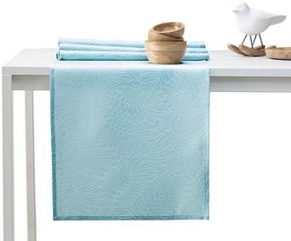 AmeliaHome Gaia AH/HMD Tablecloth Retro Blue 30x100cm
