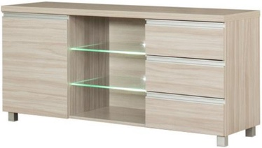 ТВ стол Bodzio Aga AG16, кремовый, 1380x425x660 мм