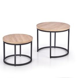 Kafijas galdiņš Halmar Oreo, 400-530x400x350-450 mm