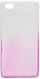 Mocco Gradient Color Back Case For Huawei P10 Lite Transparent/Rose