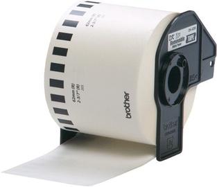 Этикет-лента для принтеров Brother DK-44205, 3000 см