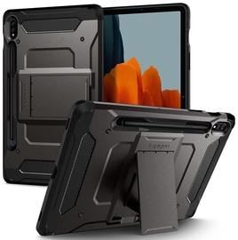 Чехол Spigen Tough Armor Pro for Galaxy Tab S7 11.0 T870/T875, черный/темно-серый, 11.0″
