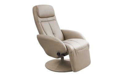 Atzveltnes krēsls Halmar Optima Cappuccino, 80x77x84 cm