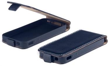 Mocco Kabura Rubber Vertical Case For LG K8 2017 Black