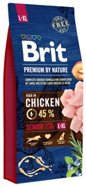Brit Premium By Nature Senior L/XL Chicken 15kg
