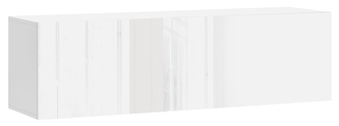 Vivaldi Meble Vivo 03 Wall Shelf With LED White/White Gloss