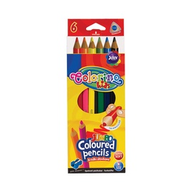 Цветные карандаши Colorino, 15516PTR, 6 шт.