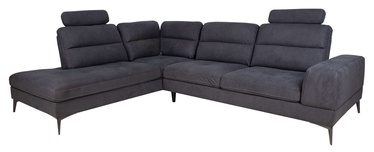 Угловой диван Home4you Maya, серый, 229 x 295 x 91 см
