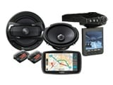 GPS, video, audio