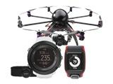 Sporta pulksteņi, aproces un droni