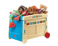 Rotaļlietu kastes un maisi