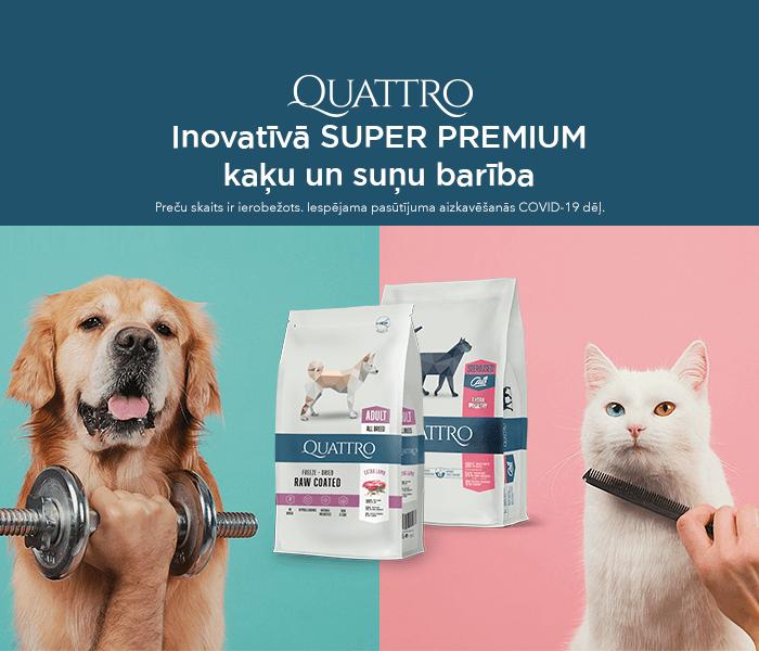 Inovatīvā super premium kaķu un suņu barība