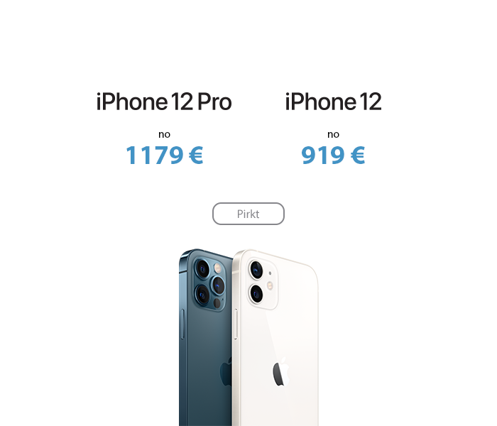 Apple iPhone 12 un iPhone 12 Pro
