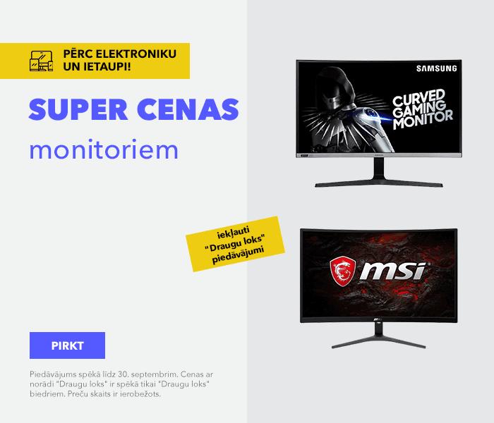 SUPER CENAS monitoriem