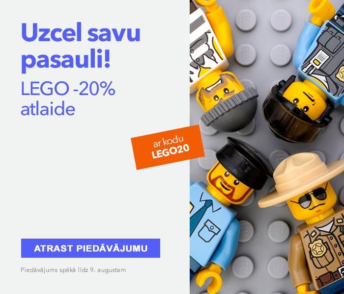 Uzcel savu pasauli!  LEGO -20% atlaide