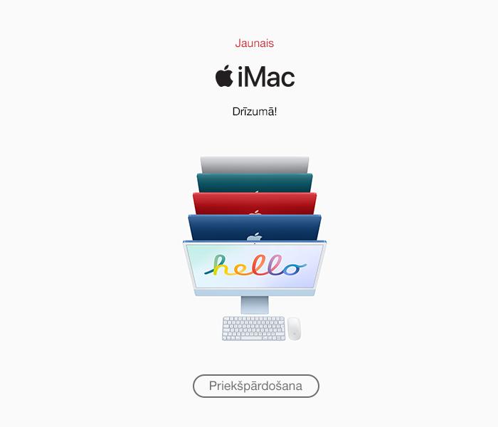 Jaunais iMac! Priekšpārdošana