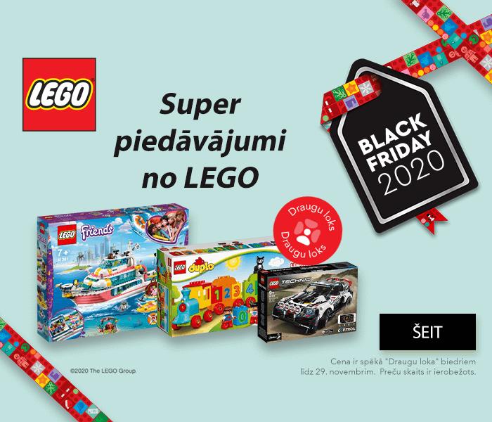 TOP LEGO piedāvājumi par zemām cenām
