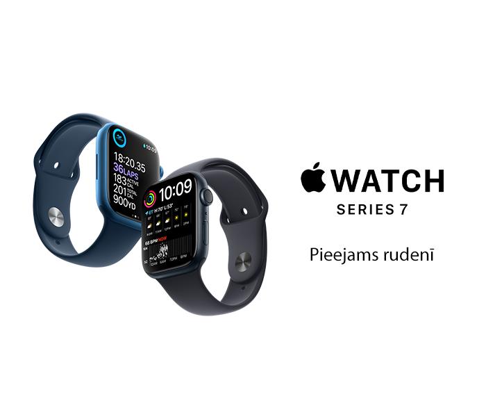 Apple Watch Series 7 - pieejams rudenī!