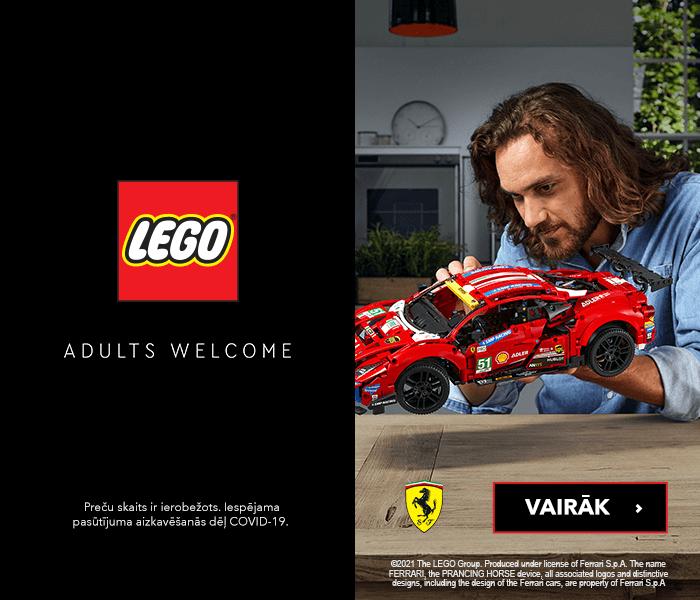Atklājiet LEGO Adults komplektus