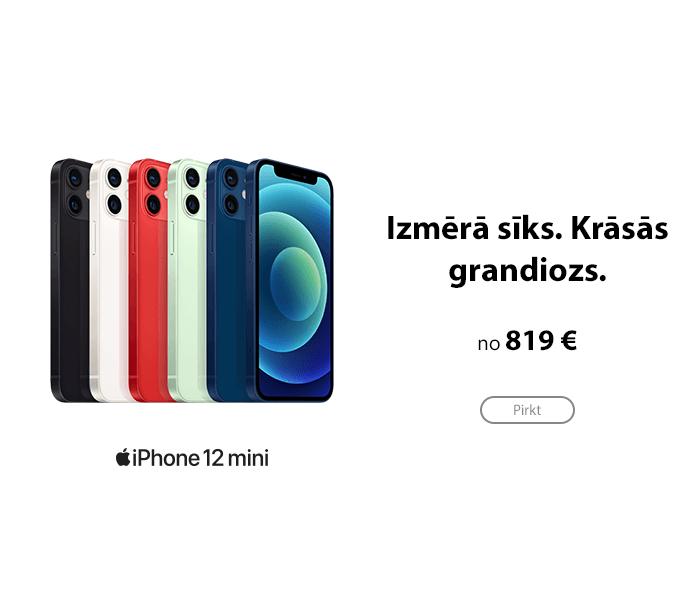 Apple iPhone 12 mini jau ir pārdošanā!