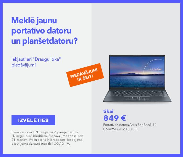 Meklē jaunu portatīvo datoru un planšetdatoru? Piedāvājumi ir šeit!