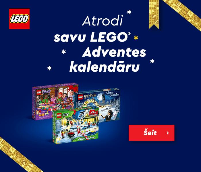 Atrodi savu LEGO Adventes kalendāru