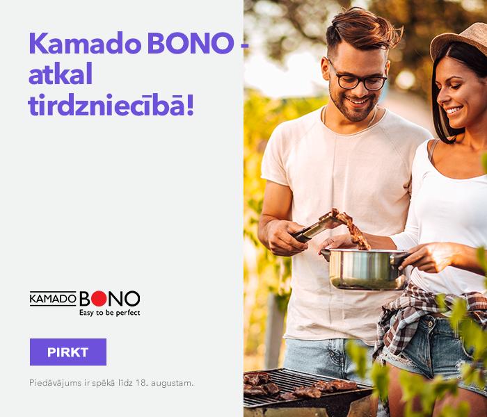 Kamado bono - atkal tirdzniecībā