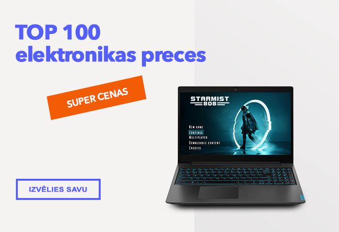 TOP 100 elektronikas preces