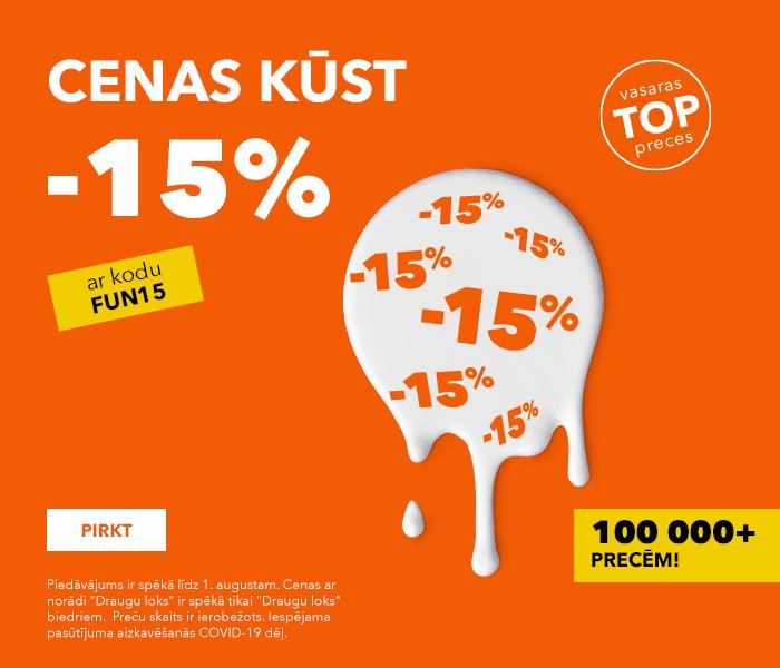 CENAS KŪST -15%