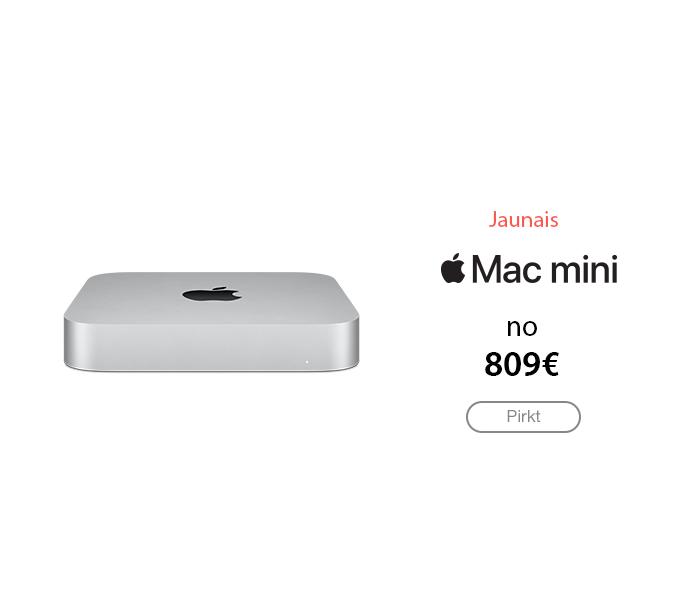 Mac mini pērc pie mums